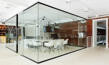 单层玻璃隔断